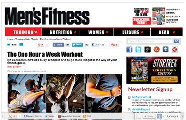 http://www.mensfitness.com/training/build-muscle/the-one-hour-a-week-workout