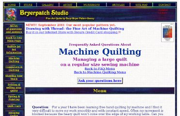 http://www.bryerpatch.com/faq/machinequilting/mqlargequilt.htm
