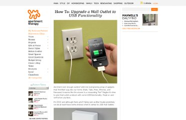 http://www.apartmenttherapy.com/how-to-give-your-wall-outlet-a-usb-upgrade-165394