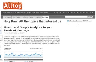 http://holykaw.alltop.com/how-to-add-google-analytics-to-your-facebook