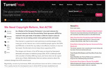 http://torrentfreak.com/we-need-copyright-reform-not-acta-120204/