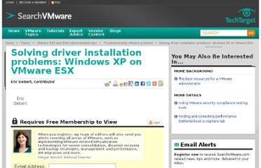 http://searchvmware.techtarget.com/tip/Solving-driver-installation-problems-Windows-XP-on-VMware-ESX