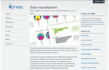 http://www.iriss.org.uk/services/data-visualisation