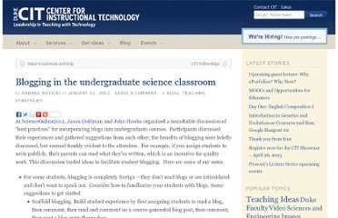 http://cit.duke.edu/blog/2012/01/blogging-in-the-undergraduate-science-classroom/