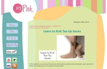 http://verypink.com/2011/01/13/learn-to-knit-toe-up-socks/