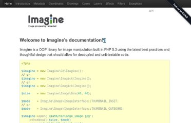http://imagine.readthedocs.org/en/latest/index.html