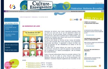 http://www.culture-enseignement.cfwb.be/index.php?id=cult_ens_page104&no_cache=1