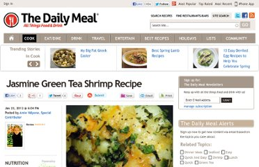 http://www.thedailymeal.com/jasmine-green-tea-shrimp-recipe