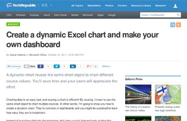 http://www.techrepublic.com/blog/msoffice/create-a-dynamic-excel-chart-and-make-your-own-dashboard/6282