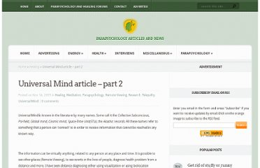 http://www.mind-energy.net/archives/19-Universal-Mind-article-part-2.html