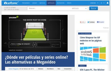 http://onsoftware.softonic.com/alternativas-a-megavideo