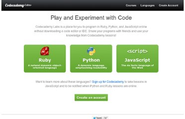 http://labs.codecademy.com/#:workspace