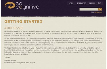 http://gocognitive.net/getting-started