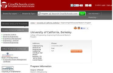 http://www.gradschools.com/program-details/university-of-california-berkeley/engineering-professional-masters-program-251400_1