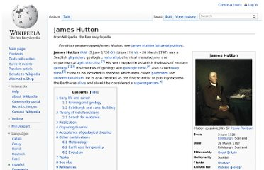 http://en.wikipedia.org/wiki/James_Hutton