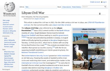 http://en.wikipedia.org/wiki/Libyan_civil_war
