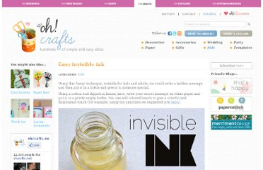 http://www.ohcrafts.net/kids-easy-invisible-ink.php