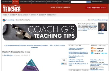 http://blogs.edweek.org/teachers/coach_gs_teaching_tips/2012/02/maslows_hierarchy_hits_home_1.html