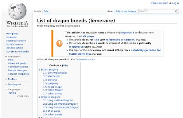 http://en.wikipedia.org/wiki/List_of_dragon_breeds_(Temeraire)