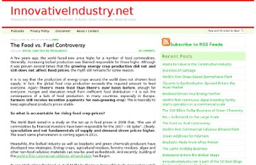 http://www.innovativeindustry.net/the-food-vs-fuel-controversy