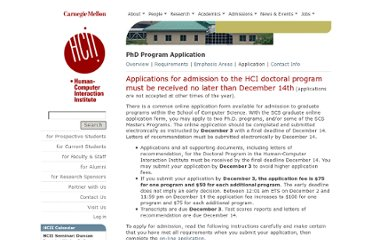 http://www.hcii.cmu.edu/phd-program-application#Anchor-Ca-22701