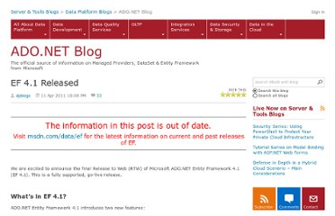http://blogs.msdn.com/b/adonet/archive/2011/04/11/ef-4-1-released.aspx