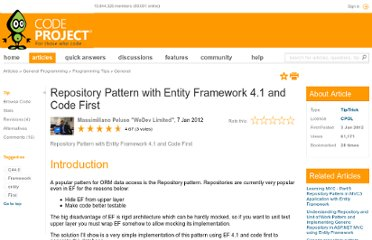 http://www.codeproject.com/Tips/309753/Repository-Pattern-with-Entity-Framework-4-1-and-C