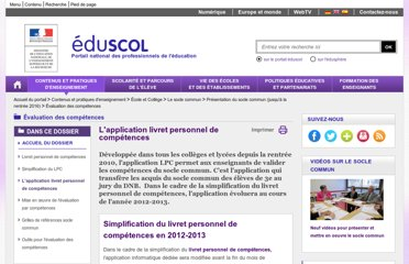 http://eduscol.education.fr/cid57937/l-application-livret-personnel-de-competences.html