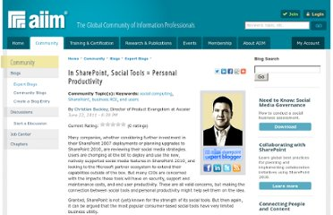 http://www.aiim.org/community/blogs/expert/In-SharePoint-Social-Tools-3d-Personal-Productivity