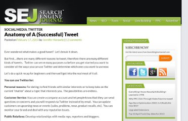 http://www.searchenginejournal.com/anatomy-of-a-successful-tweet/17810/