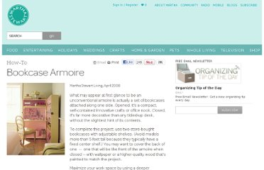 http://www.marthastewart.com/268801/bookcase-armoire-how-to