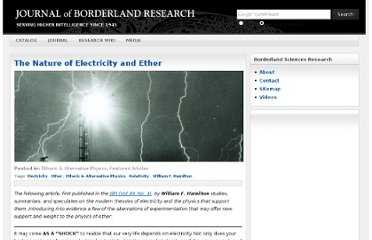 http://journal.borderlands.com/2011/the-nature-of-electricity-and-ether/