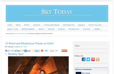http://sky-today.com/10-weird-and-mysterious-places-on-earth/