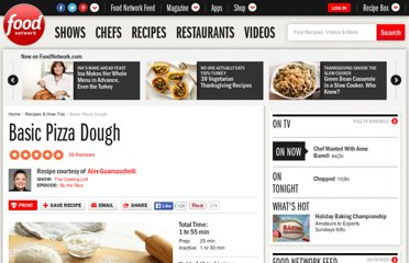 http://www.foodnetwork.com/recipes/basic-pizza-dough-recipe/index.html
