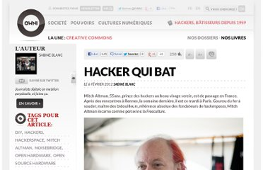 http://owni.fr/2012/02/06/mitch-altman-hacker-qui-bat/