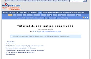 http://jgrondin.developpez.com/article/MySQL/Replication_MySQL/