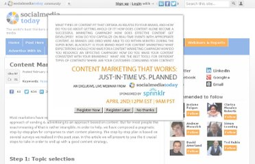 http://socialmediatoday.com/stevenvanbelleghem/440945/content-marketing-6-steps