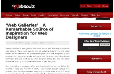 http://websoulz.com/web-galleries-_-a-remarkable-source-of-inspiration-for-web-designers/
