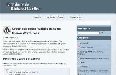 http://www.richardcarlier.com/article-147-creer-des-zones-widget-dans-un-theme-wordpress.html