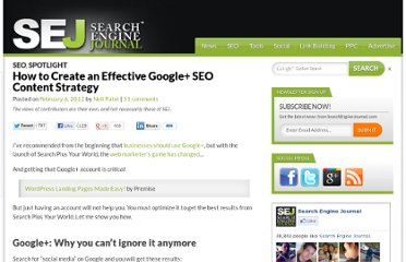 http://www.searchenginejournal.com/how-to-create-an-effective-google-seo-content-strategy/39734/