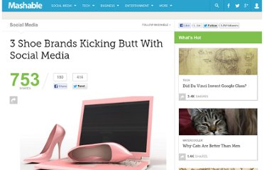http://mashable.com/2012/02/06/shoe-footwear-brands-social-media-marketing/