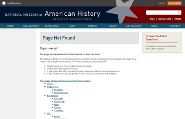 http://americanhistory.si.edu/freedomandjustice/learning_resources.html#classroom