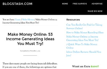 http://www.blogstash.com/53-ways-to-make-money-online/