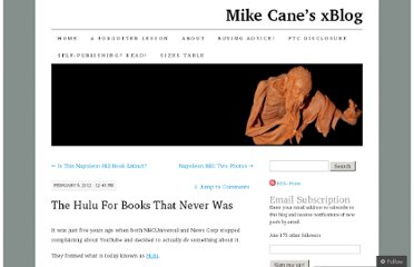 http://mikecanex.wordpress.com/2012/02/06/the-hulu-for-books-that-never-was/