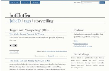 http://huffduffer.com/JulieD/tags/storytelling