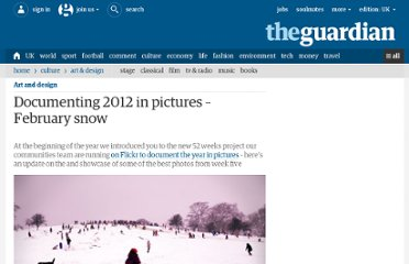 http://www.guardian.co.uk/artanddesign/2012/feb/06/52-weeks-project-february-snow