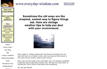http://www.everyday-wisdom.com/vintage-weather-tips.html