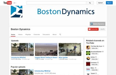 http://www.youtube.com/user/BostonDynamics