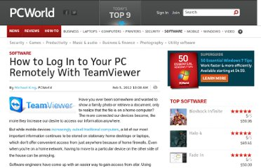 http://www.pcworld.com/article/248991/how_to_log_in_to_your_pc_remotely_with_teamviewer.html
