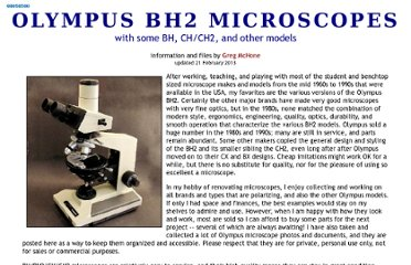 http://earth2geologists.net/Microscopes/OlympusScopes.htm